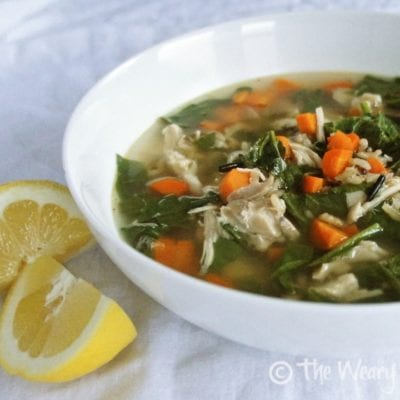 Chicken Lemon Rice Soup Recipe