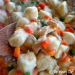 Easy Chicken and Dumplings made with #Bisquick | The Weary Chef