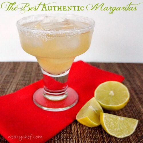 The Best Authentic Margaritas