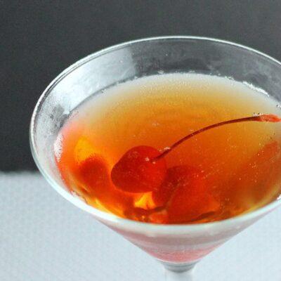 Cherry Lover's Manhattan Cocktail