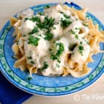 Slow Cooker Chicken Stroganoff: Your new favorite chicken recipe!