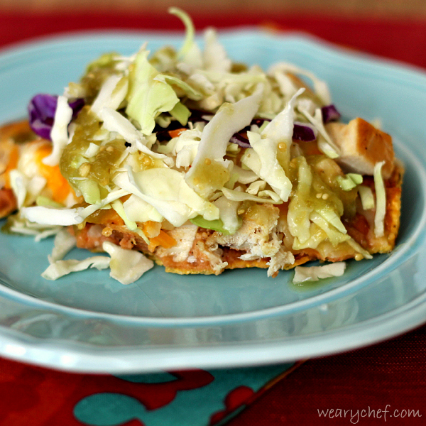 Chicken Tostadas: An easy, fun dinner idea!