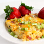 Easy Hashbrown Casserole with Ham