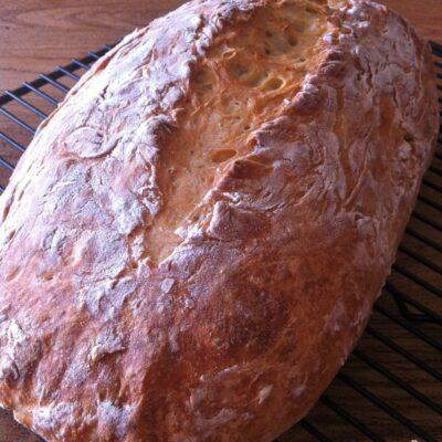 4-Hour No Knead Beer Bread Recipe