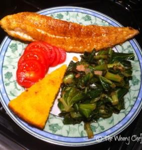 Complete Catfish Dinner - Yum!