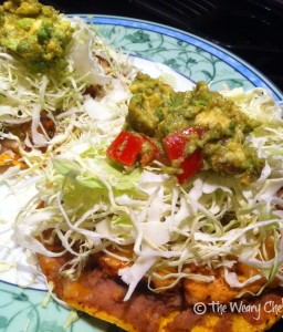 Weary Chef's Chicken Tostadas