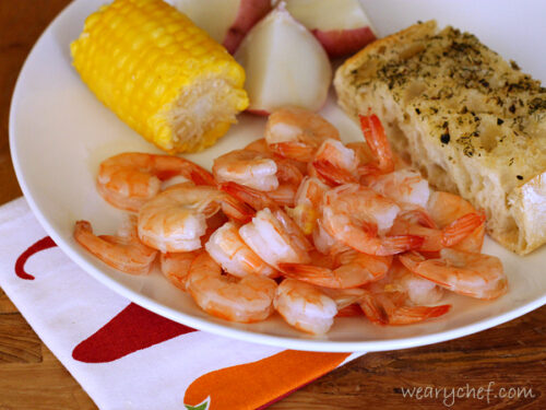 Cajun Shrimp Boil - Just about as easy as boiling water! #shrimp