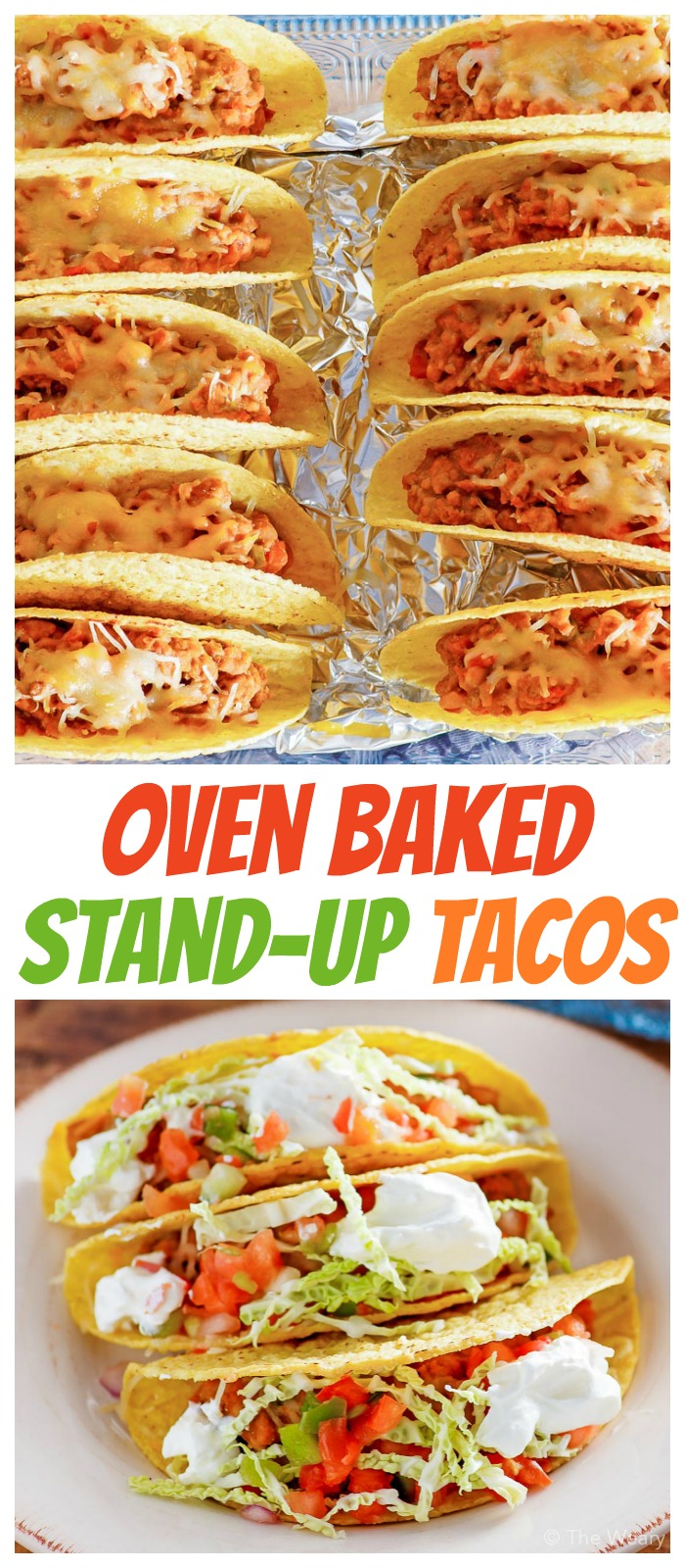 These oven baked tacos are my new favorite way to enjoy this classic dinner! Bake up a pan for your family this week, and enjoy a fun meal together. #tacos #taconight #tacotuesday #oventacos #bakedtacos