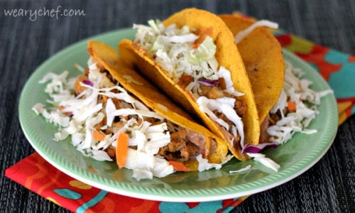 Standup Oven Tacos | The Weary Chef
