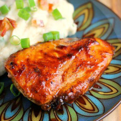 Stovetop Barbecue Chicken Recipe