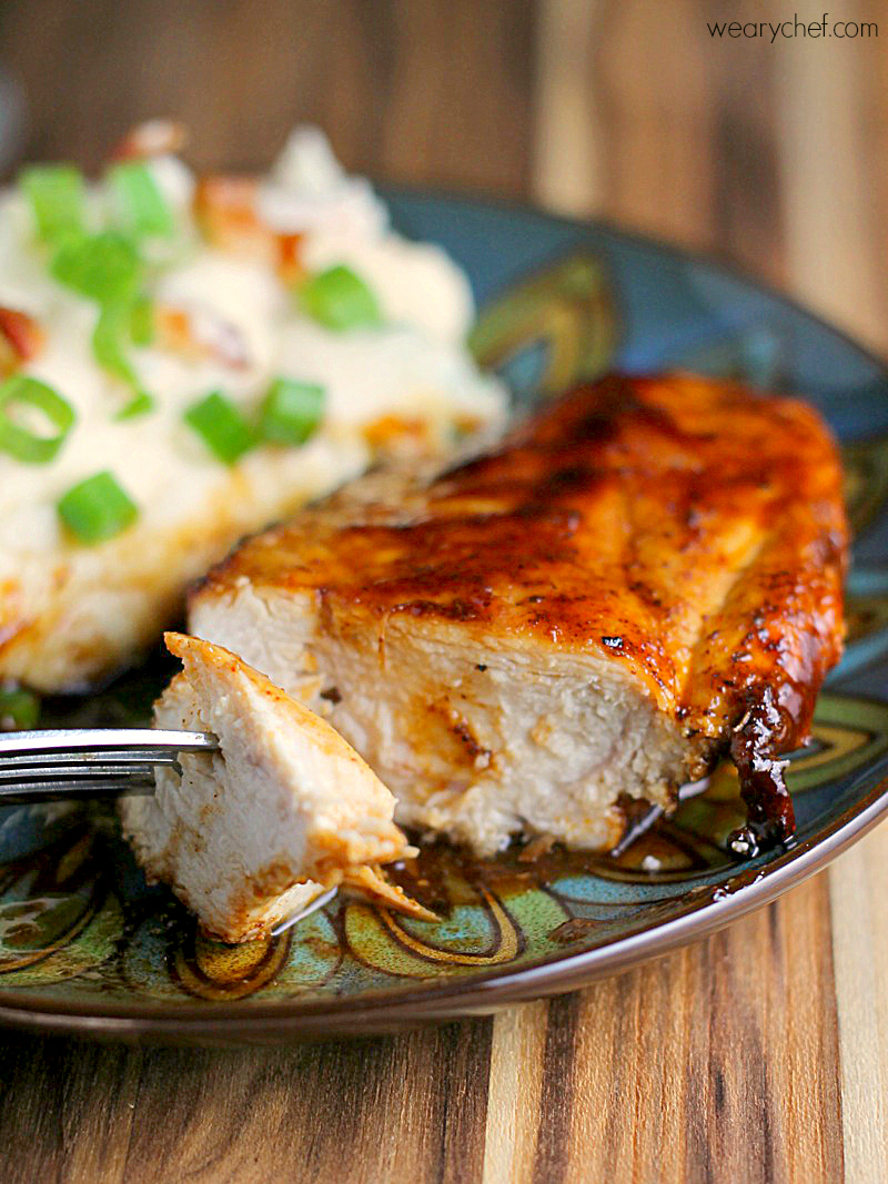 Enjoy perfect BBQ chicken indoors with this quick and easy Stovetop Barbecue Chicken Recipe!