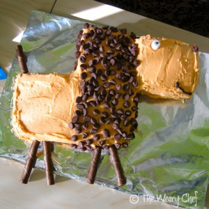 Lion Cut Up Cake