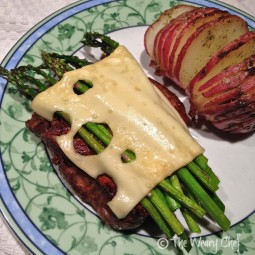 Kitchen Testing:  Steak Xavier and Red Ranch Hasselback Potatoes