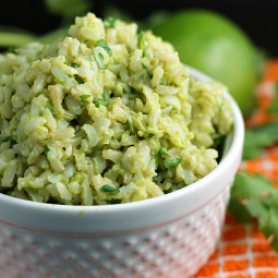 Avocado Rice with Lime