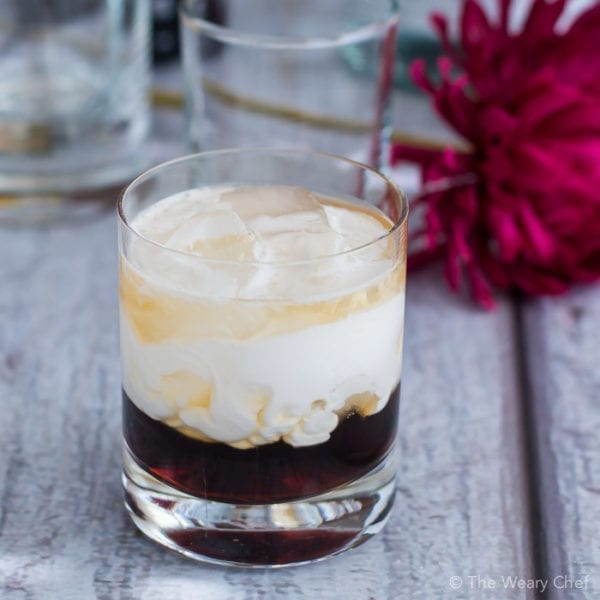 Put a tropical spin on a classic cocktail with this Coconut White Russian made with coconut milk instead of cream.
