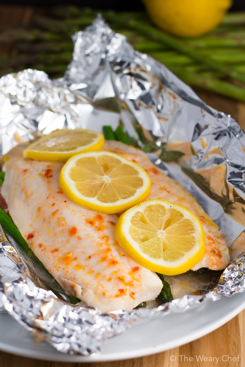 Baked Fish In Foil Packets