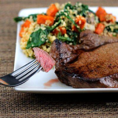 Irish Whiskey Marinade: Perfect on steak or chicken!