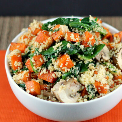Sweet Potato and Kale Couscous