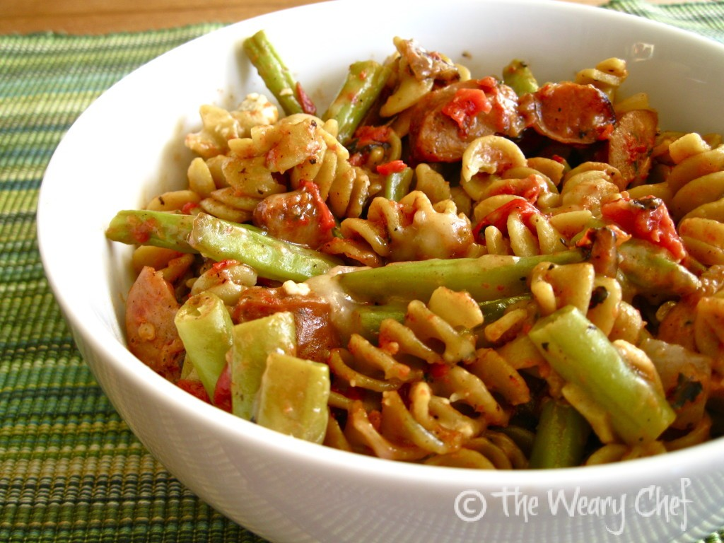 Italian Sausage Pasta Bake - Easy, flavorful one-dish dinner!