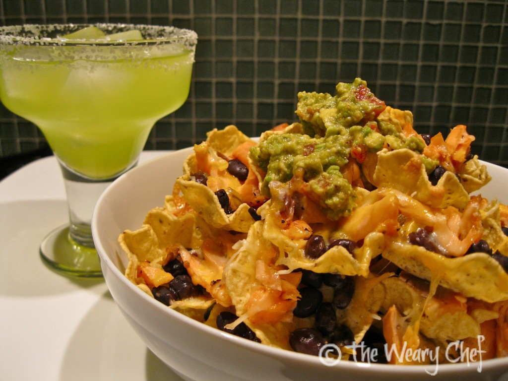 Salmon Nachos - Great for a fun dinner or party food!
