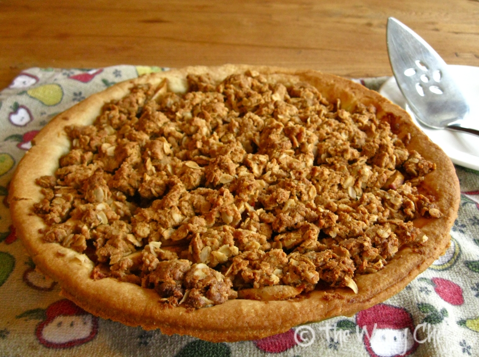Peanut Butter Apple Pie | The Weary Chef