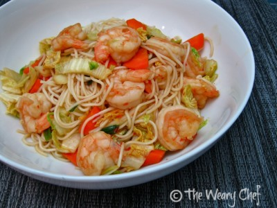 Japanese Inspired Noodles - Easy, healthy dinner!
