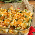 Cheesy Asparagus and Potato Casserole