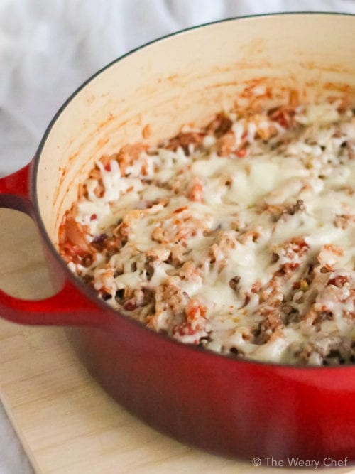 Cabbage Roll Casserole - Low and Slow or a 30-Minute Meal!