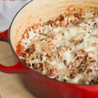 Cabbage Roll Casserole: Low and Slow or a 30 Minute Meal!
