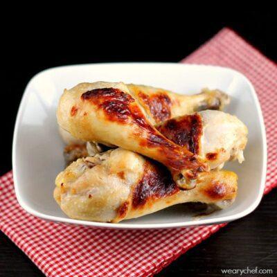 Buttermilk Baked Chicken Drumsticks: A tasty, frugal dinner idea!