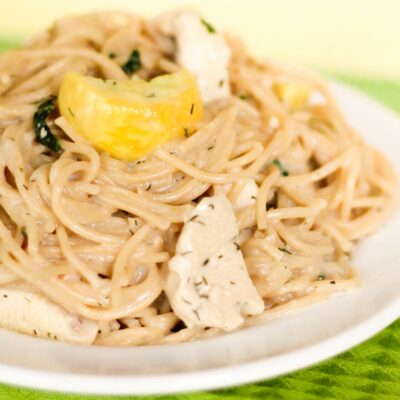 Creamy Ranch Chicken Pasta