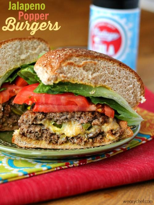 Jalapeño Popper Burgers