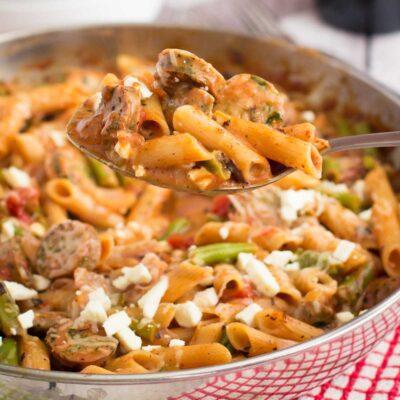 Italian Sausage Pasta Skillet Recipe