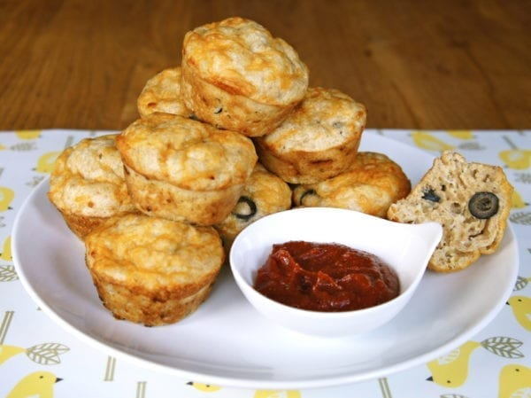 Pizza Muffins | The Weary Chef