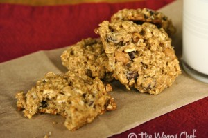 Bonus Recipe: Chewy Oatmeal Cookies with Chocolate and Caramel