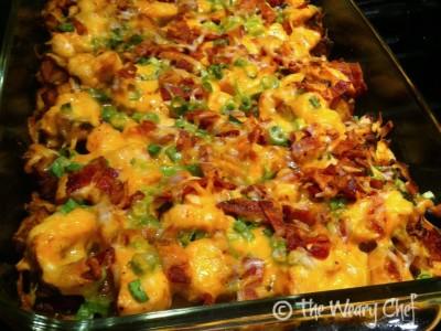 Buffalo Chicken Casserole (recipe by Cook Lisa Cook)