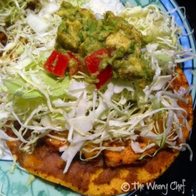 Chicken Tostadas - Easy, fun alternative to tacos!