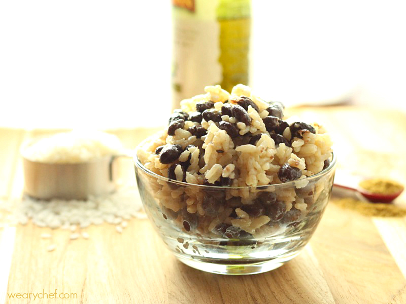 You can't beat this easy black beans and rice for a dinner recipe the whole family will love!