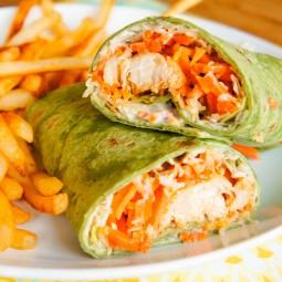 Buffalo Chicken Wraps: A fun and tasty dinner idea!