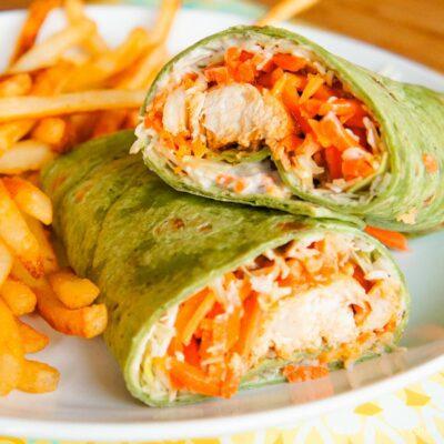 Buffalo Chicken Wraps: A fun and tasty dinner idea!