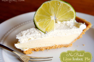 Lime Icebox Pie: An easy no bake dessert.