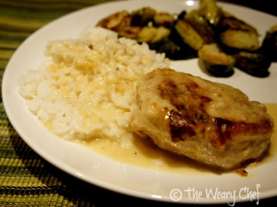 Pork Chops in Milk Gravy - Hearty, Southern meal ready in 30 minutes!