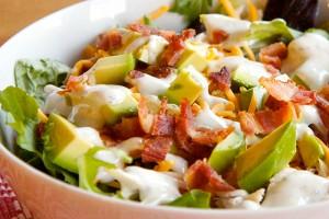 Ranch Turkey Club Salad
