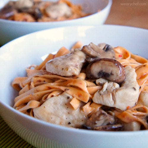 Skillet Chicken Marsala - An Italian classic made easy!