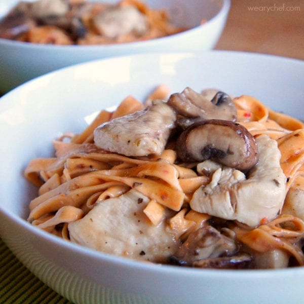 Skillet Chicken Marsala - An Italian classic made easy!