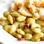 Simple Southern Lima Beans