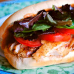 Tilapia Sandwiches with Spicy Mayo
