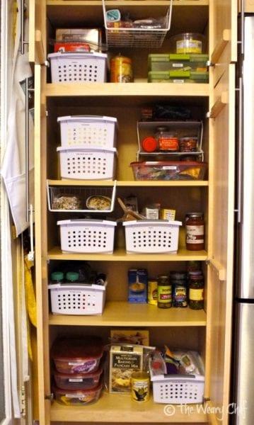 Pantry Organization - Much improved! #organization
