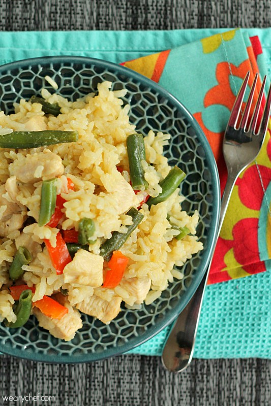 Thai Green Curry Skillet - The curry you love made in one pan in under 40 minutes!