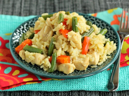 Thai Green Curry Skillet - The curry you love made in one pan in under 30 minutes!
